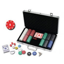 Mallette Poker 300 carré d'as 11.5 gr