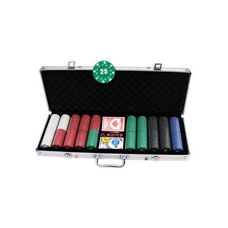 Mallette Poker 500 carré d'as 11.5 gr