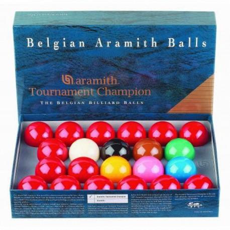 Billes de Billard Jeu Snooker Tournament Champion aramith 52,4mm