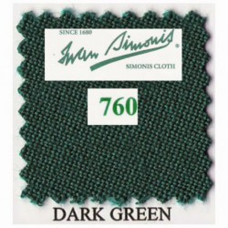 Kit tapis Simonis 760 7ft US Dark Green