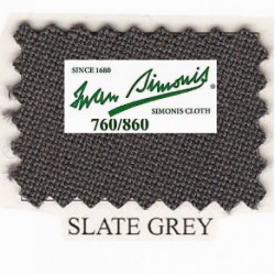 Kit tapis Simonis 760 7ft US Slate Grey