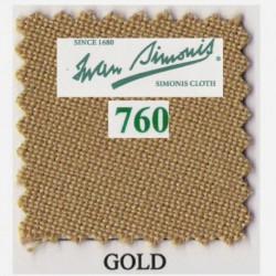 Kit tapis Simonis 760 7ft US Gold