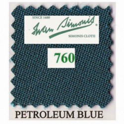 Kit tapis Simonis 760 7ft US Petrol Blue