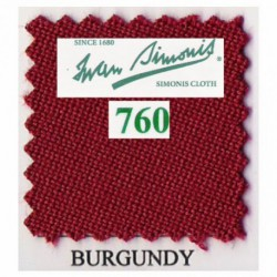 Kit tapis Simonis 760 7ft US Burgundy