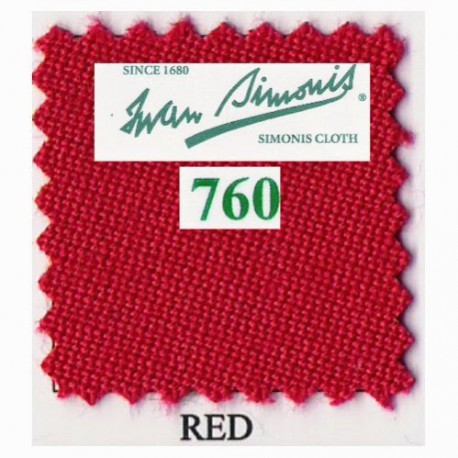 Kit tapis Simonis 760 7ft US Red