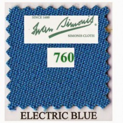 Kit tapis Simonis 760 7ft US Electric Blue