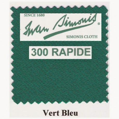Kit tapis Simonis 300 B220 Vert Bleu