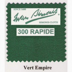 Kit tapis Simonis 300 B220 Vert Empire