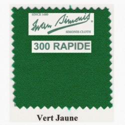 Kit tapis Simonis 300 B220 Vert Jaune