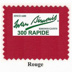 Kit tapis Simonis 300 B220 Rouge