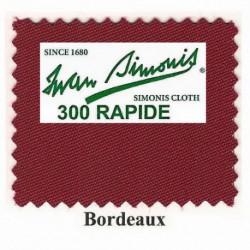 Kit tapis Simonis 300 B220 Bordeaux