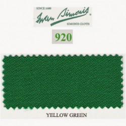 Kit tapis Simonis 920 7ft UK Yellow Green