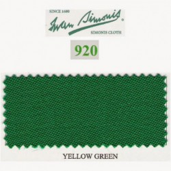 Kit tapis Simonis 920 7ft Yellow Green