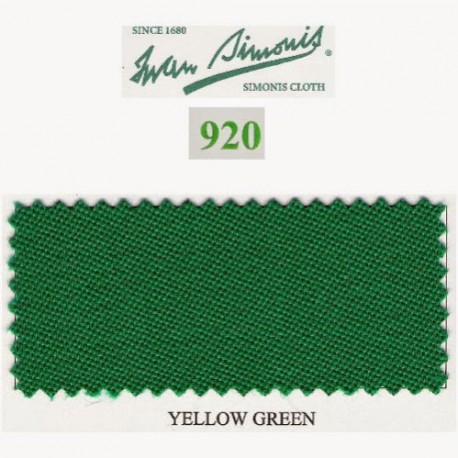 Kit tapis Simonis 920 7ft Yellow Green