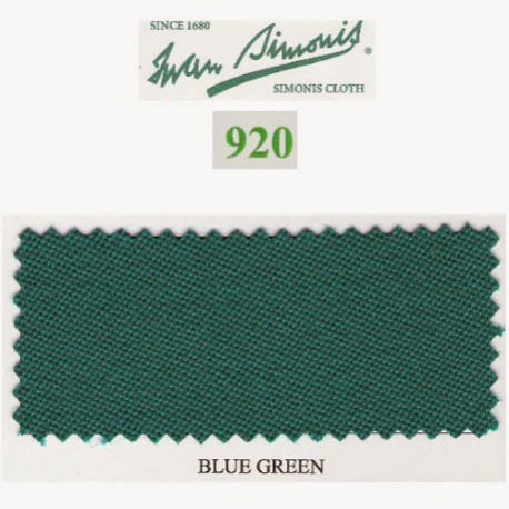 Kit tapis Simonis 920 7ft Blue Green
