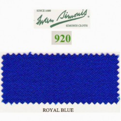 Kit tapis Simonis 920 7ft Royal Blue