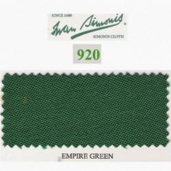 Kit tapis Simonis 920 7ft Empire Green