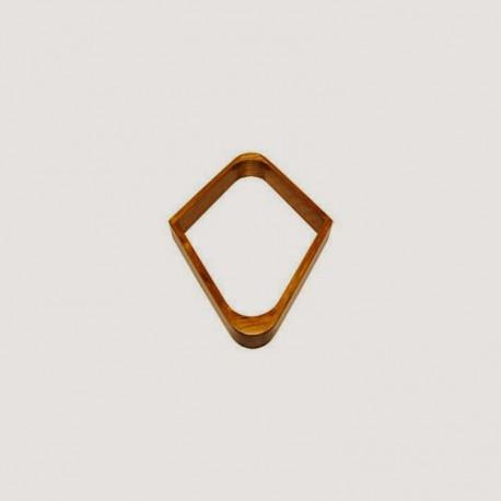 """Losange """"spécial 9"""" - bois clair pour 57mm"""