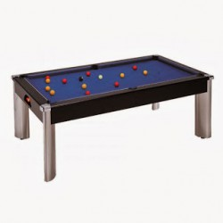 Billard Diner Design Pool US 7ft NOIR