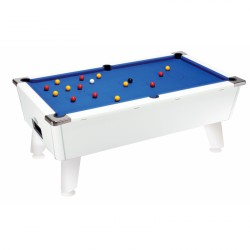 Billard Silver Pool US 7ft blanc