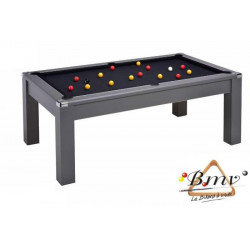 Billard TABLE Diner Newlook Pool US 7ft Gris