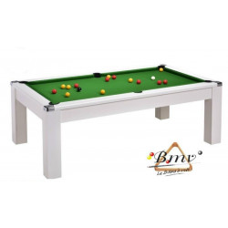 Billard TABLE Diner Newlook Pool US 7ft Blanc
