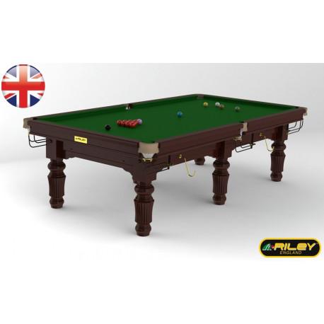 Snooker RILEY Renaissance 9 ft Acajou