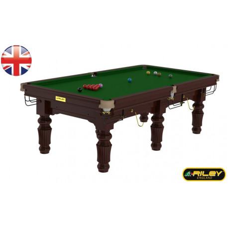 Snooker RILEY Renaissance 8 ft Acajou