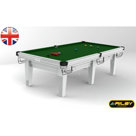 Snooker RILEY Grand 10 ft Blanc