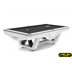 Billard Américain Ray RILEY 9ft Blanc