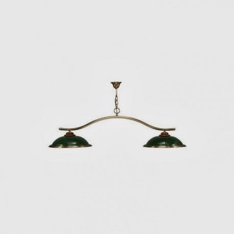 Luminaire Moulin - 2 dômes vert