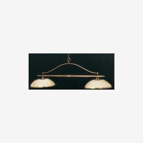 Luminaire Creil - 2 dômes opales