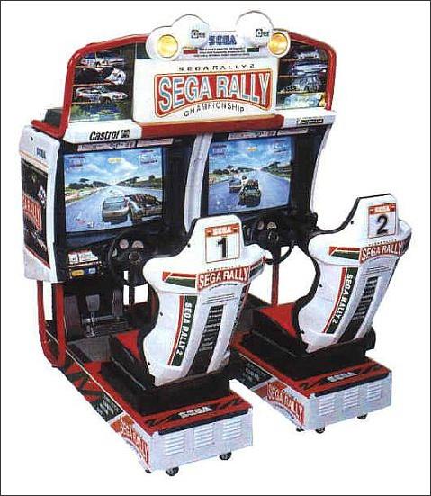 Location de jeux simulateur Sega RALLY 2