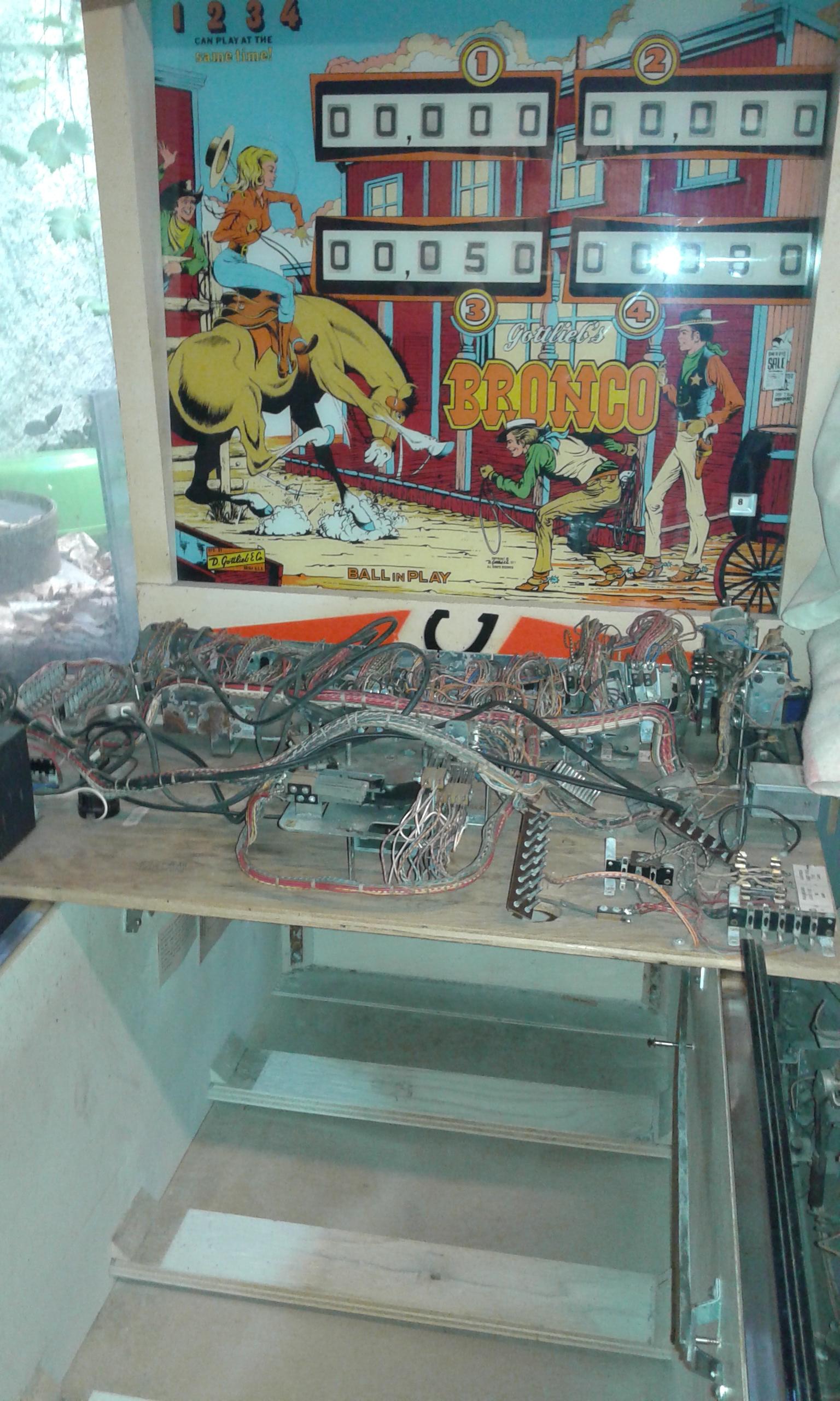 Répararation Flipper electromecanique ou electronique