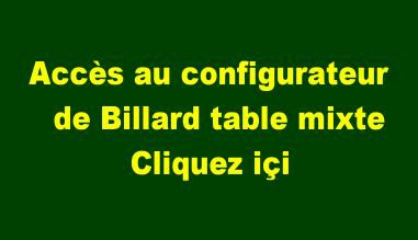 Configurateur de Billard